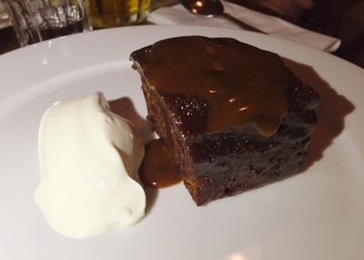 Sticky Toffee Pudding at POD Levenshulme