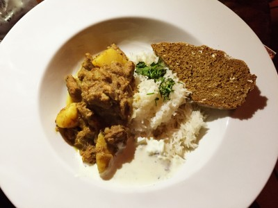19th Century Lamb Curry at POD Levenshulme