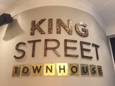 The lobby, King Street Townhouse, Manchester