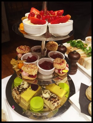 Sweet treats, afternoon tea, King Street Townhouse, Manchester