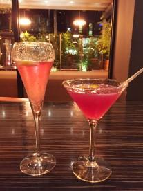 Romance & Virgin Cosmo cocktails, Zouk, Manchester