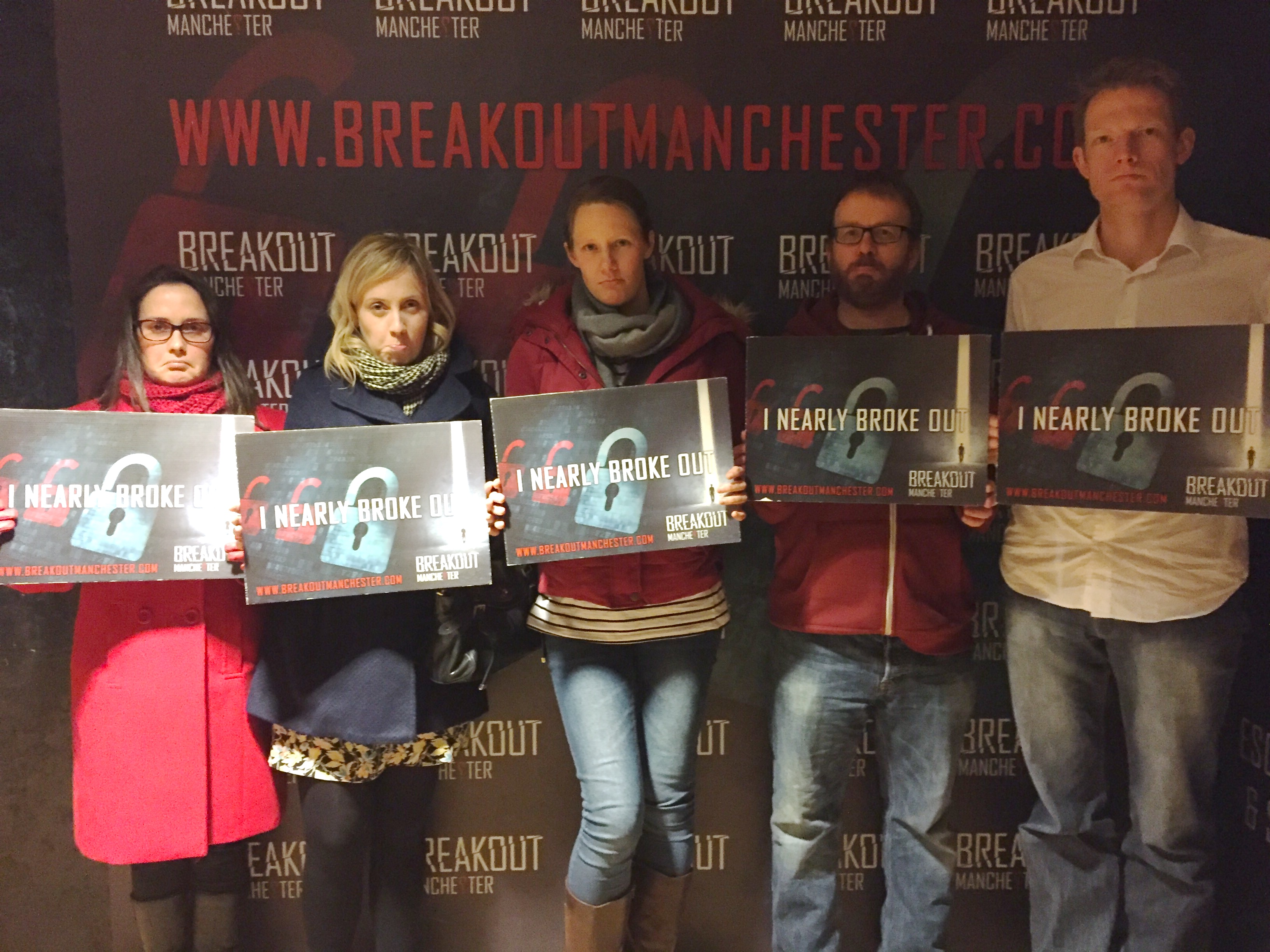 We nearly broke out! Breakout Manchester: Escape Room