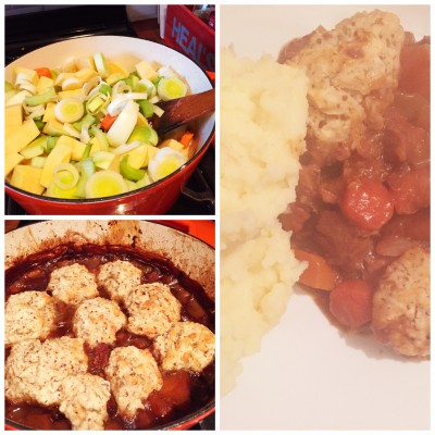 Beef stew & dumplings - Fruit and veg delivered to your door