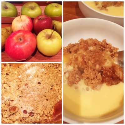 Apple & pear crumble - Fruit and veg delivered to your door