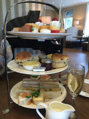 Afternoon tea at Slattery, Manchester