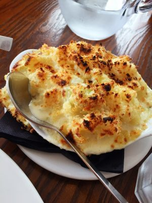 Cauliflower cheese at TNQ Restaurant