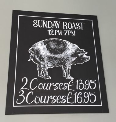 Sunday roast offers board at TNQ Restaurant